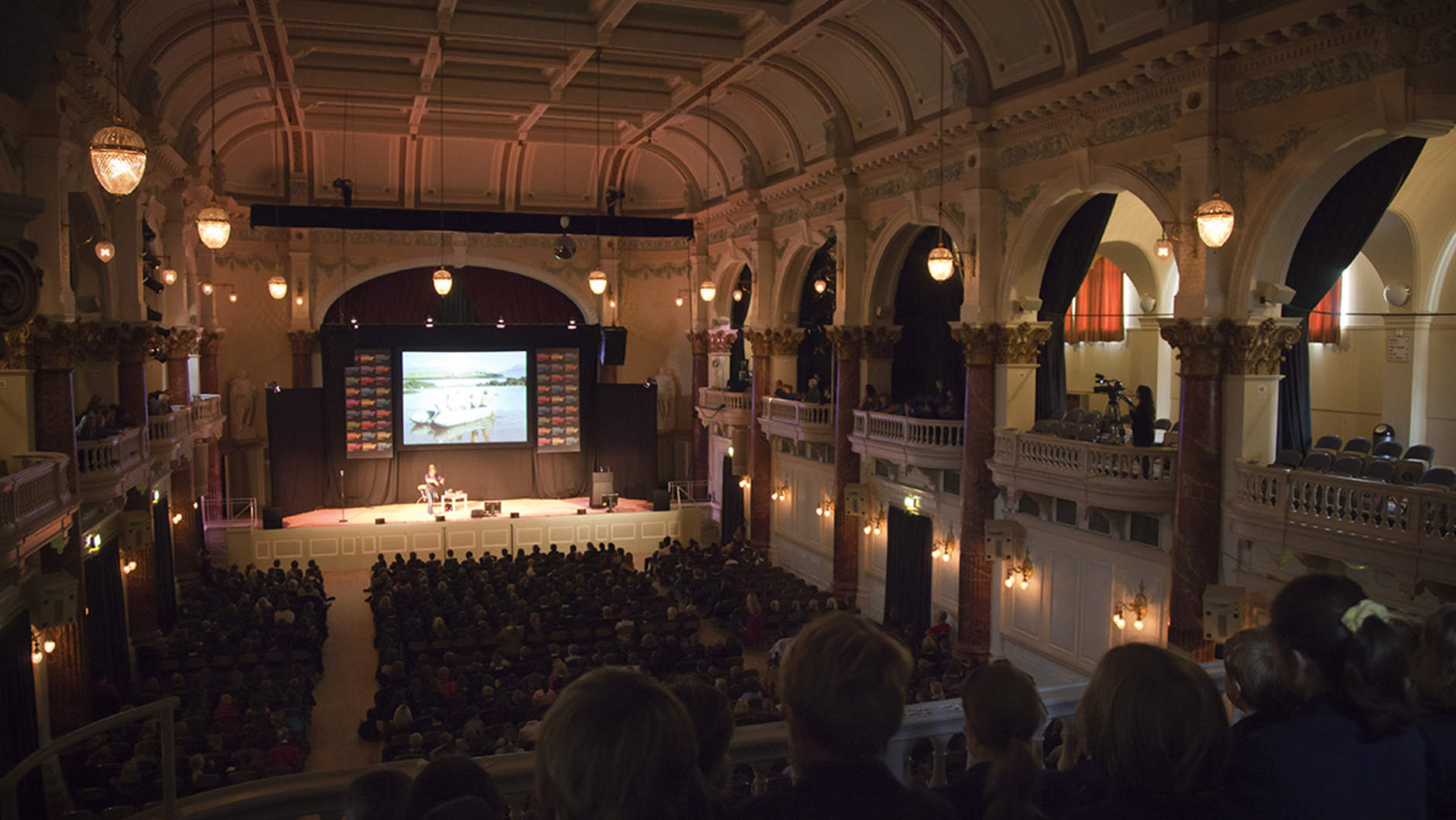 Coexist events at the Cheltenham Literature Festival