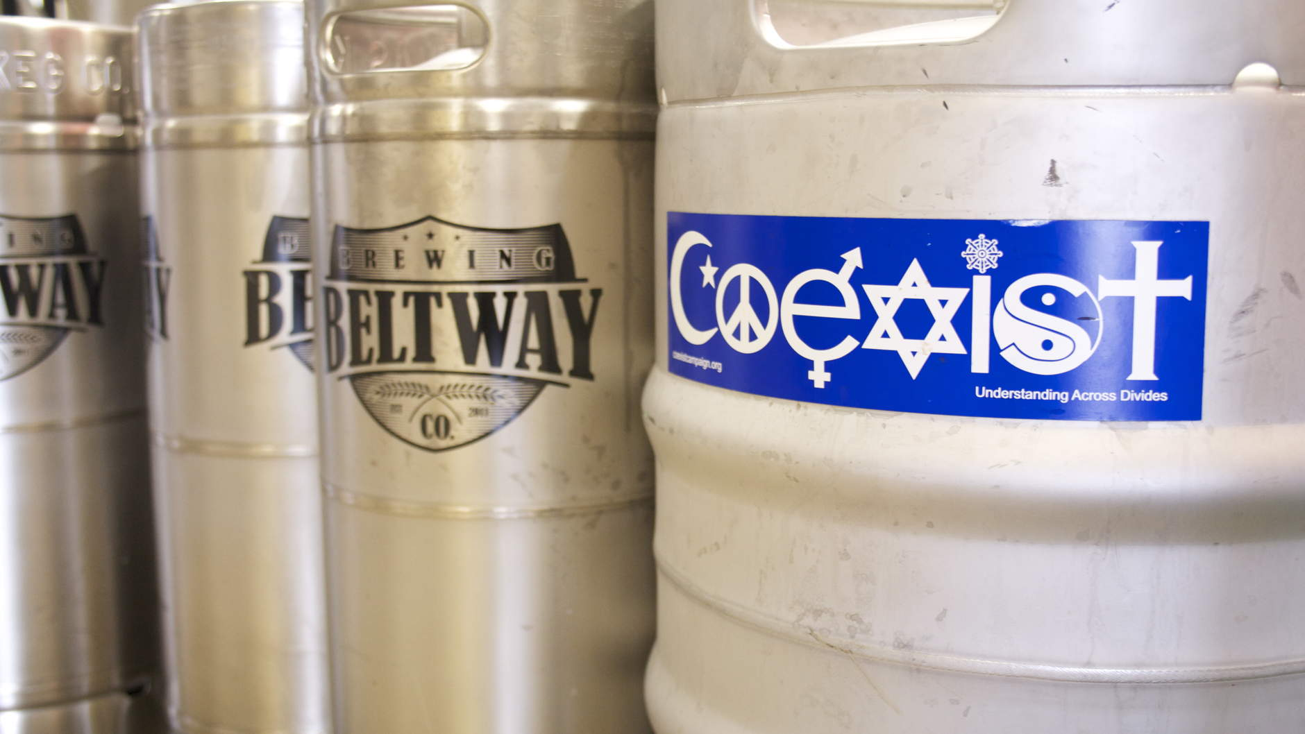 Coexist's brewing partners for the cold brew coffee