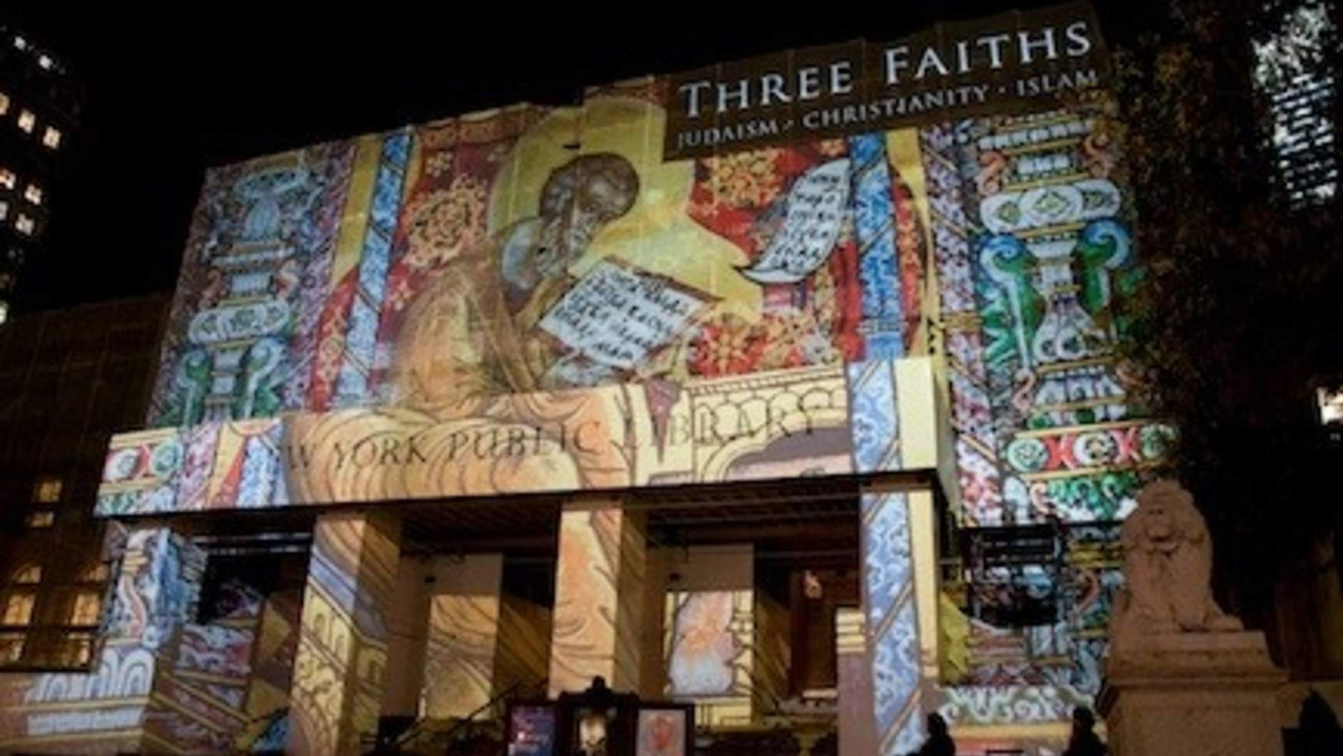 "Coexist at the ""Three Faiths"" exhibit"